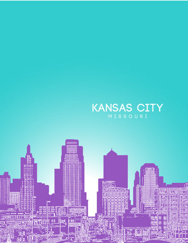 Kansas City poster art