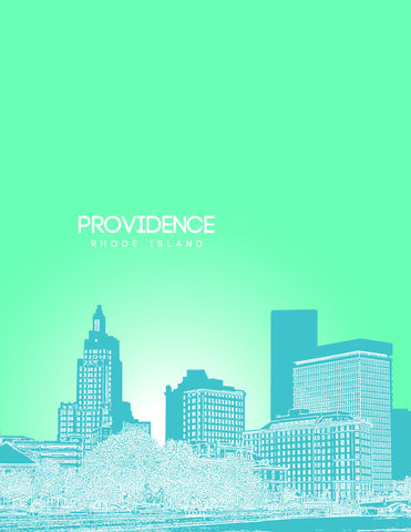 Providence Rhode Island Poster