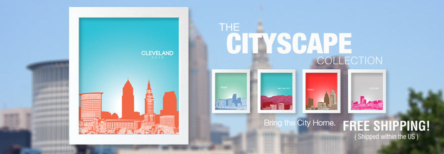 The Cityscape Poster Collection
