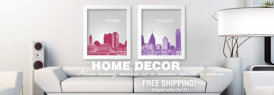 Home Decor using Poster Art Prints