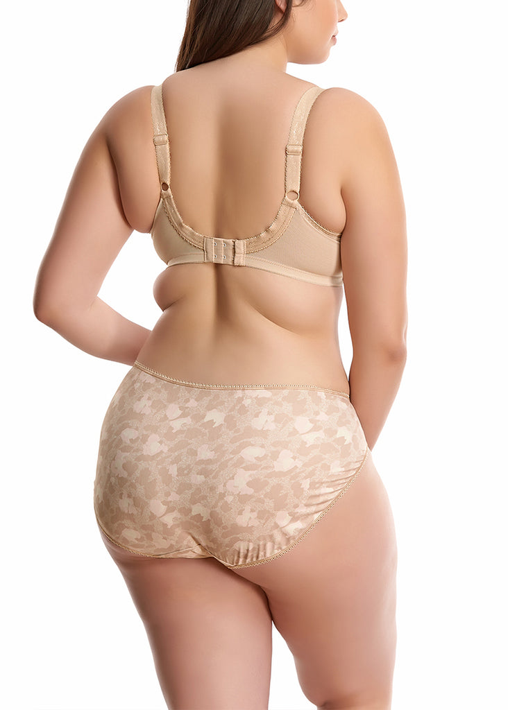 Elomi Morgan Brief in Toasted Almond