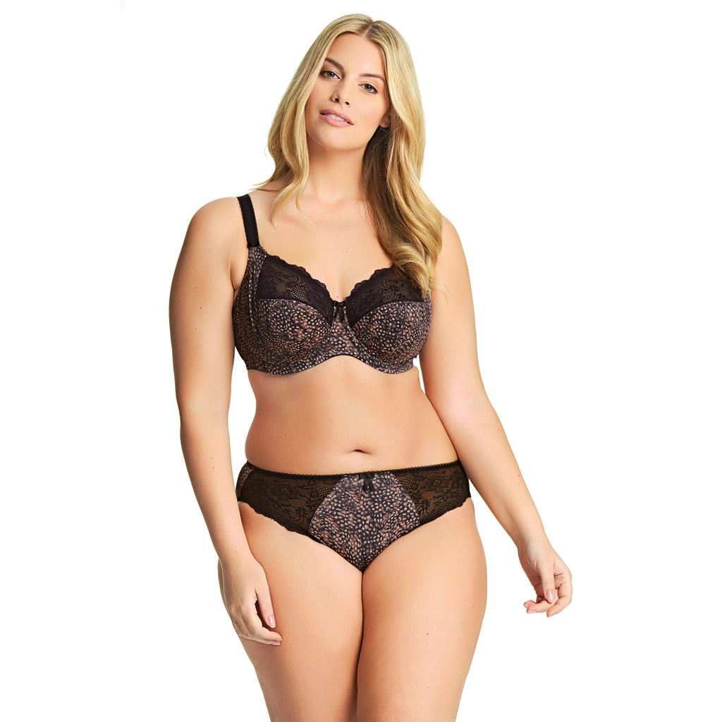 Elomi Morgan Full Cup Bra with Side Support - Ebony