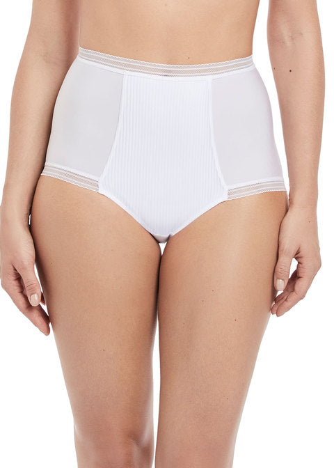 Fantasie Fusion High Waisted Brief - White
