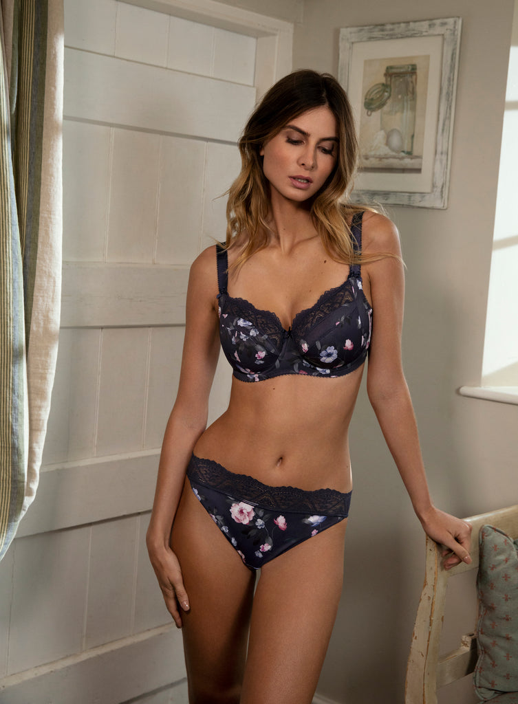Fantasie Katie Side Support Bra - Navy