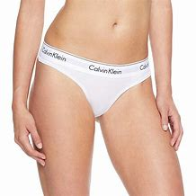 Calvin Klein Modern Cotton Thong - White