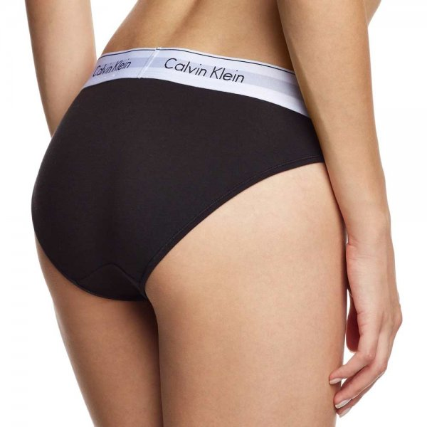 Calvin Klein Modern Cotton Bikini Brief- Black