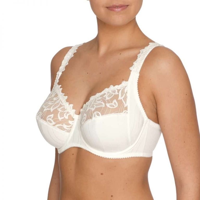 Prima Donna Deaville Full Cup Bra with Side Support - Natural
