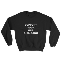 Girl Gang Crewneck Black