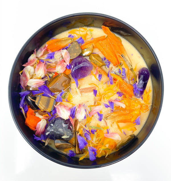 COURAGE Intention Setting Candle