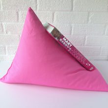 Load image into Gallery viewer, Pink Plain Book Holder Bean Bag