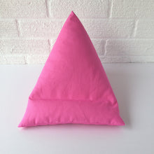 Load image into Gallery viewer, Cerise Pink Plain Tablet or iPad Holder,  Bean Bag Cushion