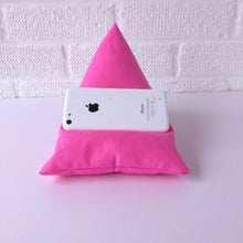 Load image into Gallery viewer, Pink Plain Phone Holder Bean Bag Cushion