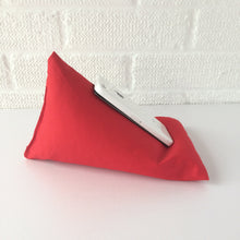 Load image into Gallery viewer, Red Plain Phone Holder Bean Bag Cushion