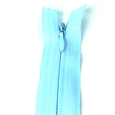 Invisible / Concealed Zippers  - Light Blue
