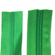 Load image into Gallery viewer, Emerald Green Continuous Zipper Roll, Standard Style, Size 3 and 5
