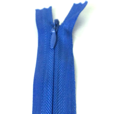 Invisible / Concealed Zippers  - Royal Blue