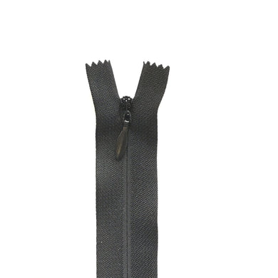 Invisible / Concealed Zippers  - Black #5 Heavy Duty