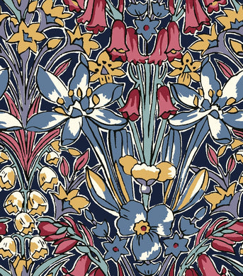 Liberty Of London Fabrics | Flower Show Winter | Adlington Hall