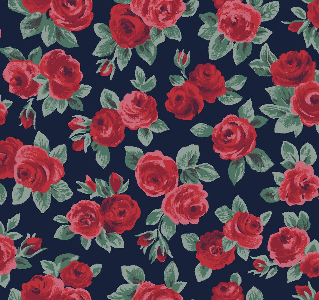 Liberty Of London Fabrics | Flower Show Winter | Ascot Rose