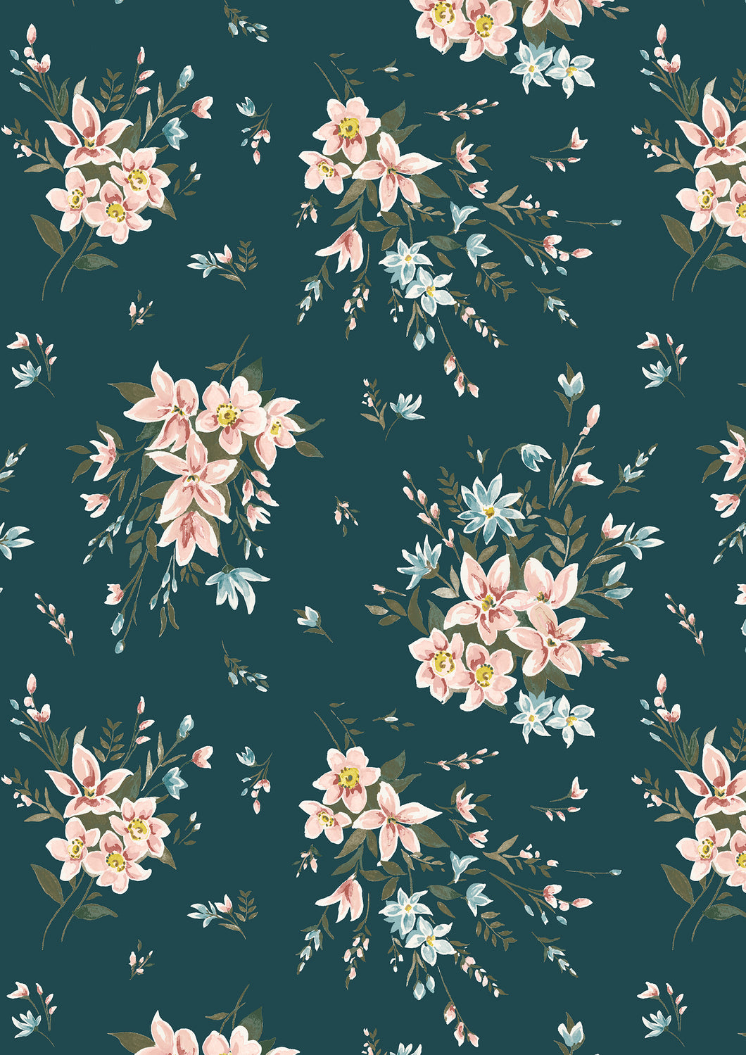 Liberty Of London Fabrics | The Winterbourne Collection | Bouquet