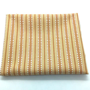 Red Rooster Basically Hugs Fabric Collection |  Brown Stripe 24112