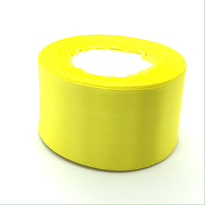 Satin Ribbon | Single Faced | Daffodil Yellow