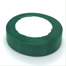 Load image into Gallery viewer, Satin Ribbon | Single Faced | Dark Green