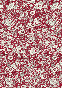 Liberty Of London Fabrics | Flower Show Winter | Emily Silhouette Flower