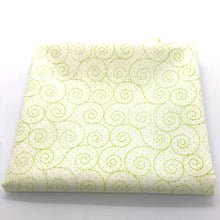 Load image into Gallery viewer, Red Rooster  Basically Hugs Fabric Collection | Green Swirls 25041