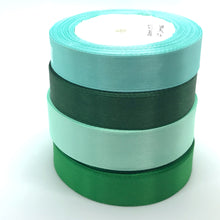 Load image into Gallery viewer, Satin Ribbon | Single Faced | Emerald Green