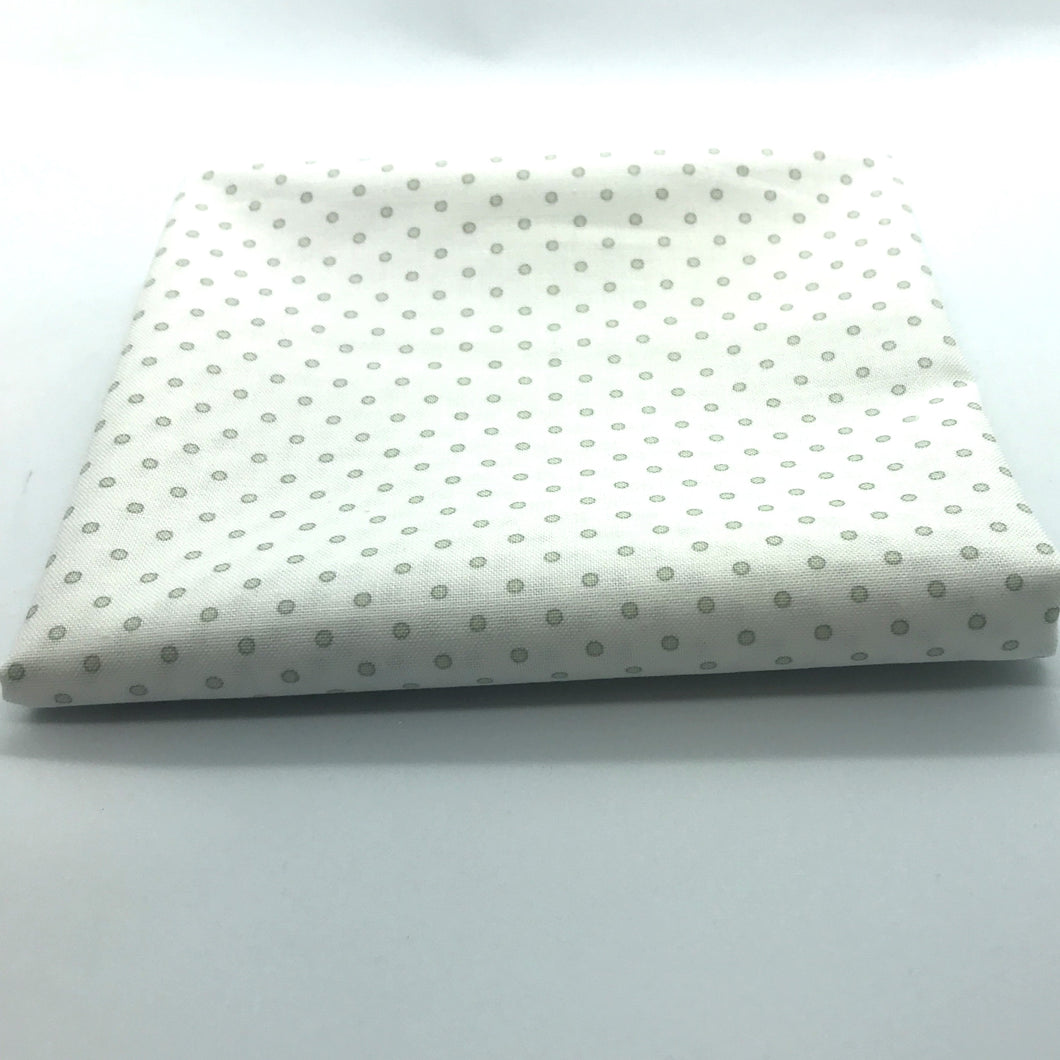Red Rooster  Basically Hugs Fabric Collection | Grey Dots 25042