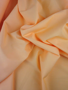 Orange Plain Polycotton fabric