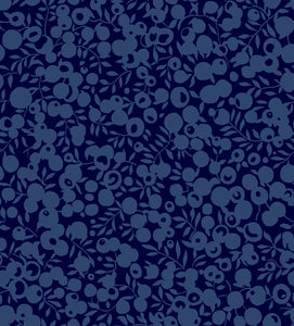 Midnight Ink | The Wiltshire Shadow Collection | Liberty of London Fabric
