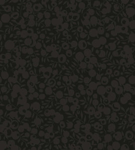 Black | The Wiltshire Shadow Collection | Liberty of London Fabric