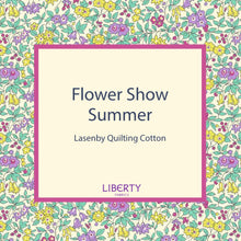 Load image into Gallery viewer, Liberty Of London Fabrics | Flower Show Summer | Emily Silhouette Flower Blue