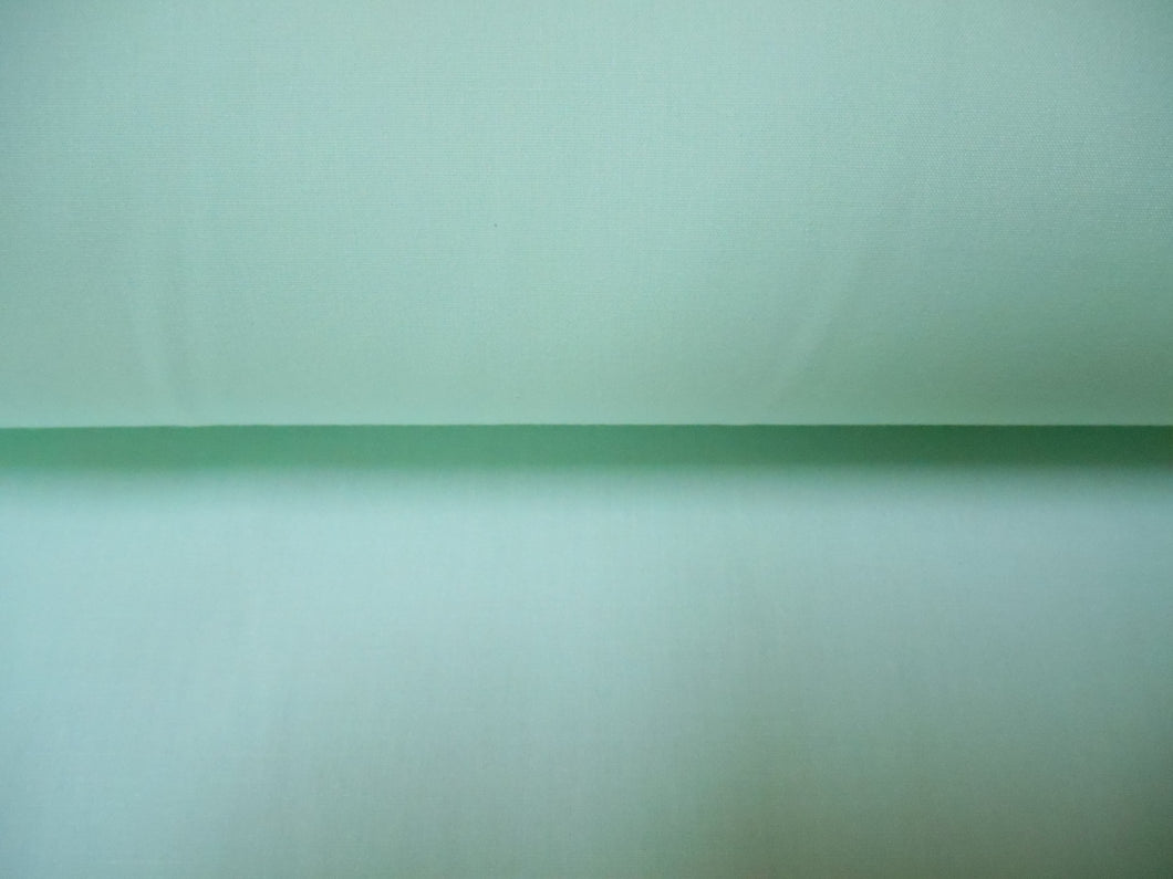 Mint Green Plain Polycotton fabric