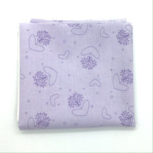 Load image into Gallery viewer, P & B Basically Hugs Fabric Collection | Purple Hearts and Circles 25040
