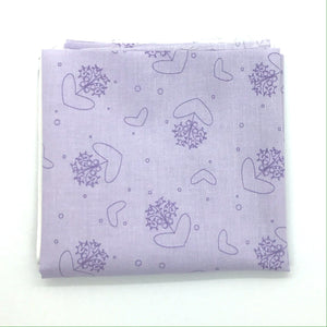P & B Basically Hugs Fabric Collection | Purple Hearts and Circles 25040