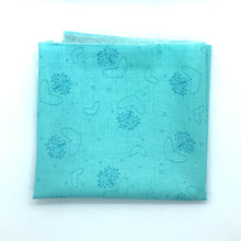 Load image into Gallery viewer, Red Rooster Basically Hugs Fabric Collection | Blue/Turquoise Hearts and Circles 25040