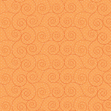 Load image into Gallery viewer, P & B Basically Hugs Fabric Collection | Orange Swirls 25041