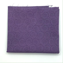 Load image into Gallery viewer, P & B Basically Hugs Fabric Collection | Purple Swirls 25041