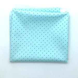Red Rooster  Basically Hugs Fabric Collection | Blue/Turquoise Dots 25042