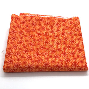 P & B Basically Hugs Fabric Collection | Orange Daisy 25043