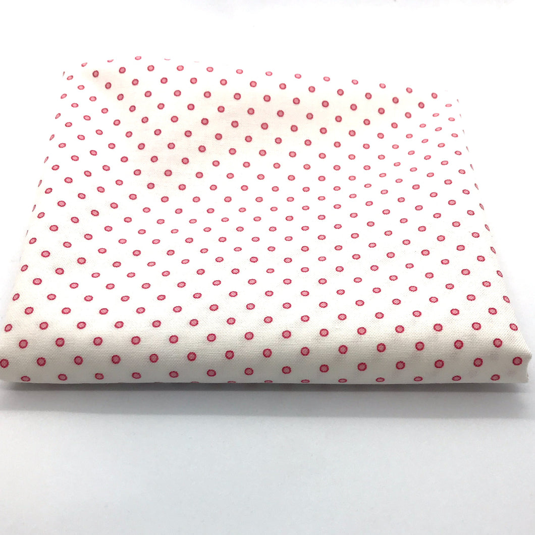 Red Rooster  Basically Hugs Fabric Collection | Pink Dots 25042