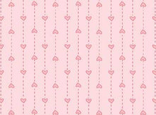 Load image into Gallery viewer, Red Rooster  Basically Hugs Fabric Collection | Pink Small Heart Stripe 25044