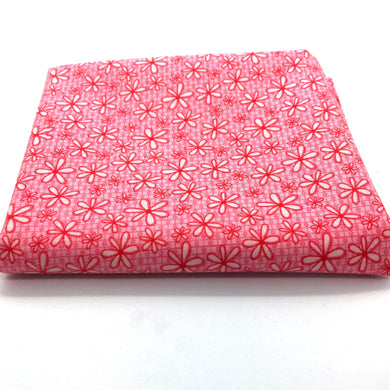 Red Rooster  Basically Hugs Fabric Collection | Pink Daisy 25043
