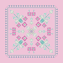 Load image into Gallery viewer, Pink Panel | The Deco Dance Collection | Liberty of London Fabrics