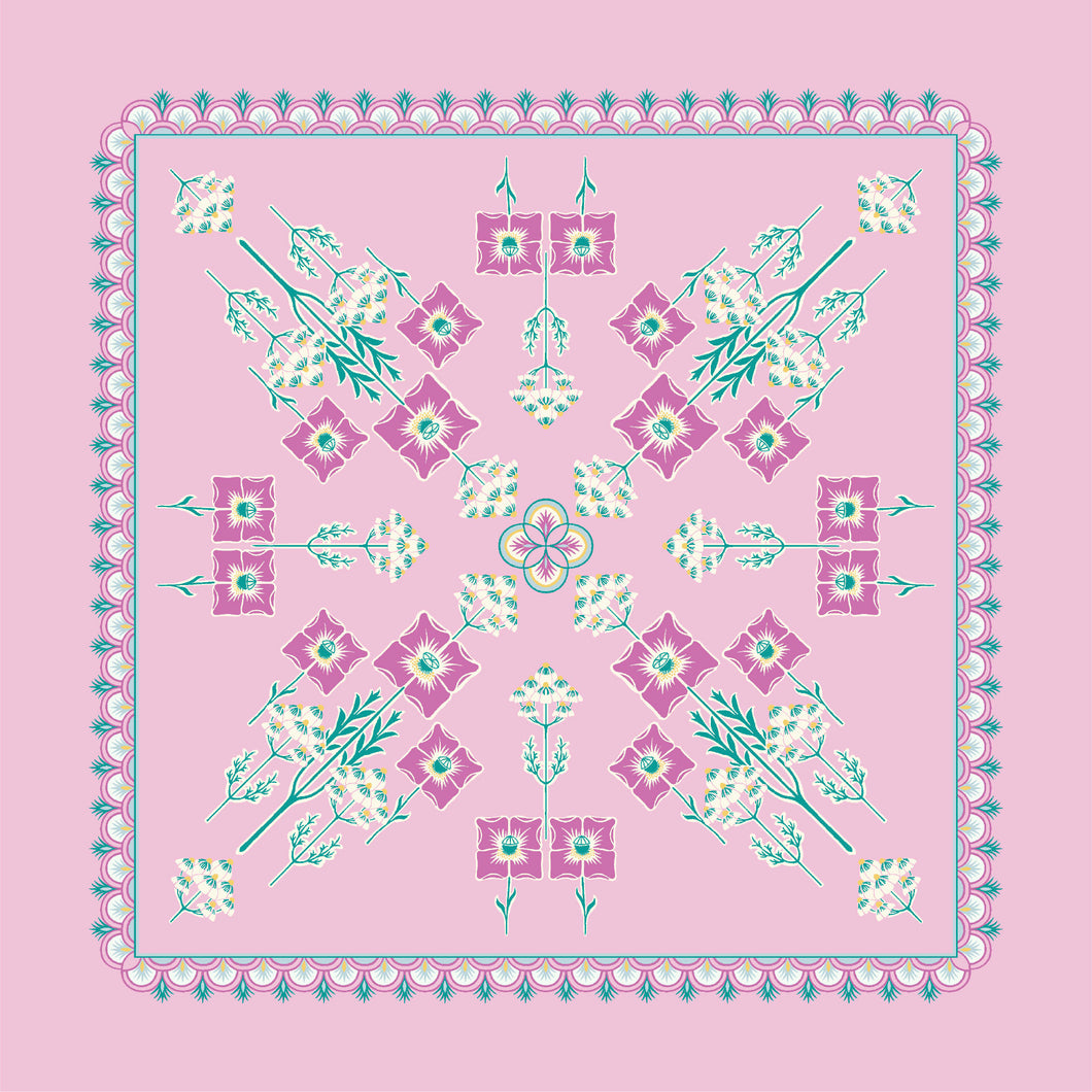 Pink Panel | The Deco Dance Collection | Liberty of London Fabrics
