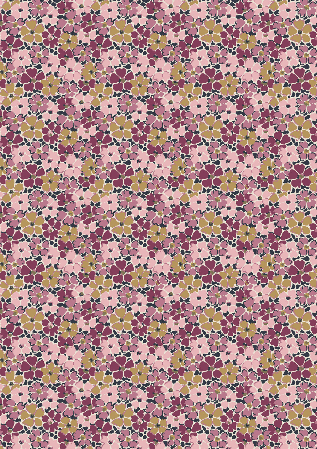 Liberty Of London Fabrics | The Winterbourne Collection | Primula Posey