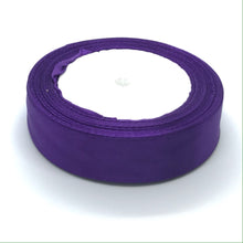 Load image into Gallery viewer, Satin Ribbon | Single Faced | Dark Purple